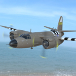 Click to see information about the 'B-26 Marauder (for Poser)'.