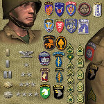 US Paratrooper WWII (VPM1) (for Poser)