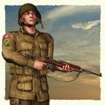 Click to see information about the 'US Paratrooper WWII (VPM1) (for Poser)'.