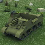 M7 Priest (for Poser)