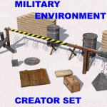Click to see information about the 'Military Environment (for Poser)'.