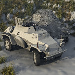 SDKFZ 222 (for Vue)