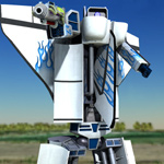 Astroburner Alternating Robot (for Poser)