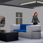 Starship Mess Hall (for Poser)