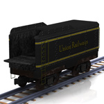 Click to see information about the 'Coal Tender (for Poser)'.