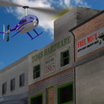 News Helicopter (for Poser)