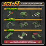 Click to see information about the 'Sci-Fi Construction Kit - Vehicles (for Poser)'.
