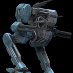 Hawksclaw Robot Mech (for Poser)
