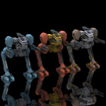 Robot Mech Two-Pack (for Poser)