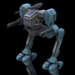 Click to see information about the 'Hawksclaw Robot Mech (for Poser)'.