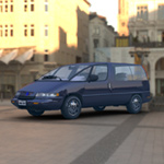 Click to see information about the 'Family Minivan (for Vue)'.