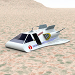 Click to see information about the 'Earth Shuttle (for Vue)'.