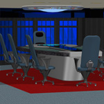 Starship Conference Room (for Poser)