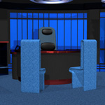 Starship Ready Room (for Poser)