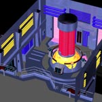 Click to see information about the 'Starship Engineering Room (for Poser)'.