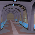 Sci-Fi Airlock (for Poser)