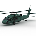 Blackhawk Helicopter (for Vue)
