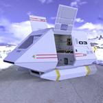 Shuttle Model XV (for Poser)