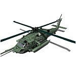 Click to see information about the 'Blackhawk Helicopter (for Vue)'.