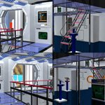 Nacelle Room (for Poser)