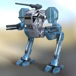 Hawksclaw Robot Mech (for DAZ Studio)