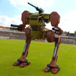 Click to see information about the 'Hawksclaw Robot Mech (for fbx)'.