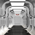 Sci-Fi Hallway Construction Kit (for Poser)