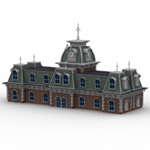 Click to see information about the 'Victorian Train Station (for Poser)'.