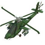 Click to see information about the 'Apache Helicopter (for Poser)'.