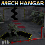 Mech Hangar (for Poser)
