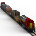 Click to see information about the 'Train Set 1 (for Lightwave)'.