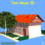 Toon House (for Wavefront OBJ)