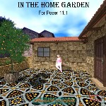 Click to see information about the 'In the Home Garden (for Poser)'.