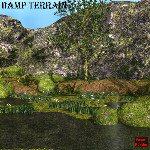Click to see information about the 'Damp Terrain (for Poser)'.