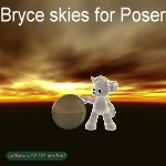 Bryce Skies (for Poser)