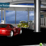 VP Gas Station (for DAZ Studio)