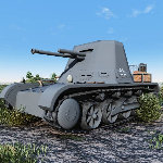 Click to see information about the 'Panzerjager IB (for Poser)'.