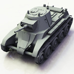 BT-7 Soviet Cavalry Tank (for Vue)