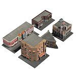 Click to see information about the 'Street Scene Buildings (for Poser)'.