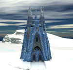 Click to see information about the 'Ice Castle (for Poser)'.