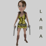 Click to see information about the 'Lara for Malvina (for Poser)'.