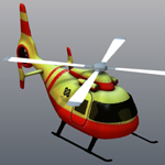Cartoon Copter (for Poser)