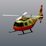 Click to see information about the 'Cartoon Copter (for Poser)'.