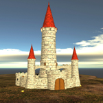 Moscowich`s Castle (for Poser)