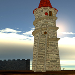 Moscowich`s Tower (for Poser)