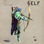 Cartoon Elf (for Unity)