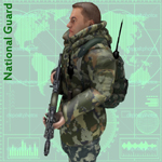 National Guard Camo Suit (for Unity)