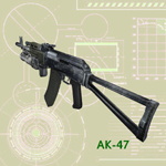 Click to see information about the 'AK-47 (for Poser)'.