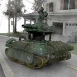 Drone Tank (for Poser)