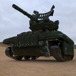 Click to see information about the 'Drone Tank (for Poser)'.